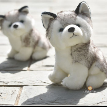 Cute 10/20cm Husky Stuffed Toy