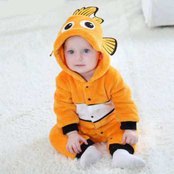 Fish Onesie for Babies