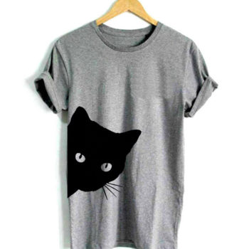 Cat Peaking Tshirt