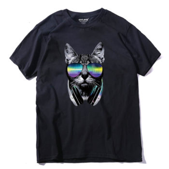 Cool Hiphop Cat Tshirt Unisex