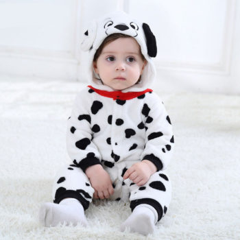 Dalmatian Dog Onesie for Babies