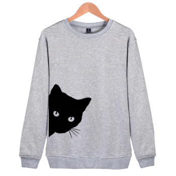 Cat Peaking Pullover