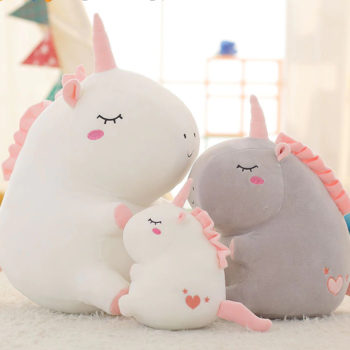 Chubby Unicorn Plush