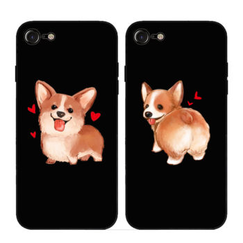 Cute Corgi Phone Case For Apple iPhone