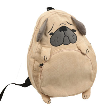 dog shaped backpack bag