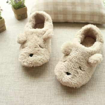 Dog Shaped House Slippers