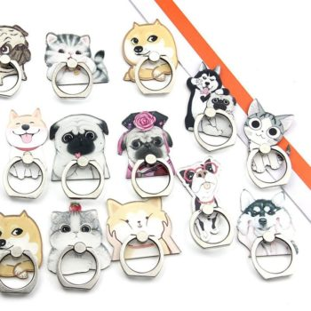 Dog and Cat Phone Ring