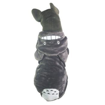 Totoro Hoodie for Large Dogs