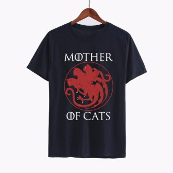 Mother of cats tshirt