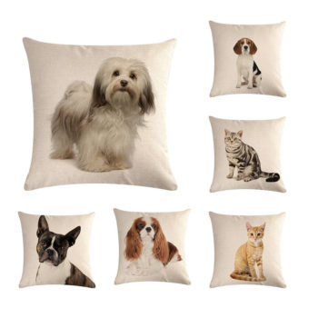 Cute Pets Pillowcase