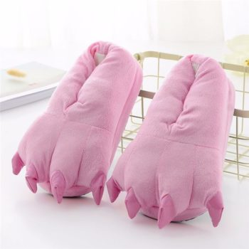 Animal Slippers at Home for Kids