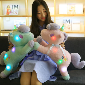Unicorn LED Plush