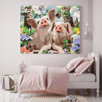 Cute Animals DIY Paint by Number