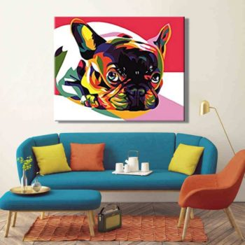 Cute Dogs Paint by Number