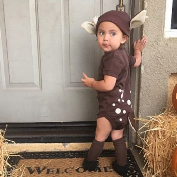 Deer with Hat Onesie for Babies