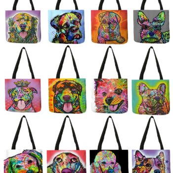 Oil Paint Style Tote Bag