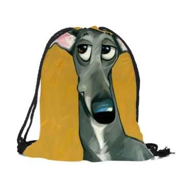 Cartoon Pet Drawstring Bag