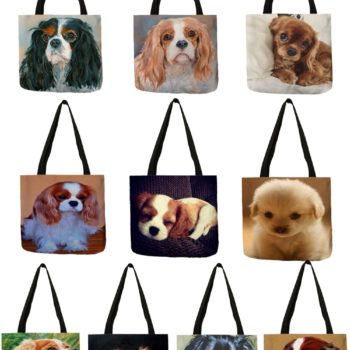 Cute Dogs Tote Bag